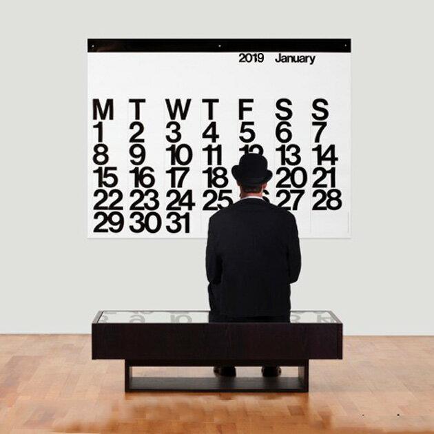 ステンディグ カレンダー 【 2019 Stendig Calendar 】ステンディグ カレンダー 2019 By Massimo Vignelli 正規販売店