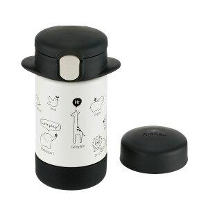 リッチェル 2WAYステンレススリムマグ 160 ブラック ステンレス製携帯用まほうびん(保冷専用)
