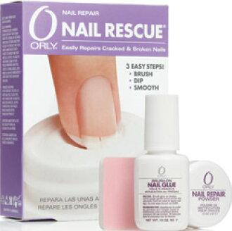 siseil: Using ORLY Orly nail rescue grew & repair powder acrylic ...