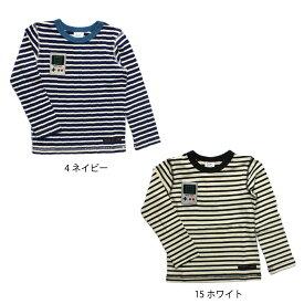【セール】【50%off】【ネコポス対応】【SiShuNon/FARM】ゲームボーダーTシャツ ファーム キッズ 男の子 Tシャツ ボーダー