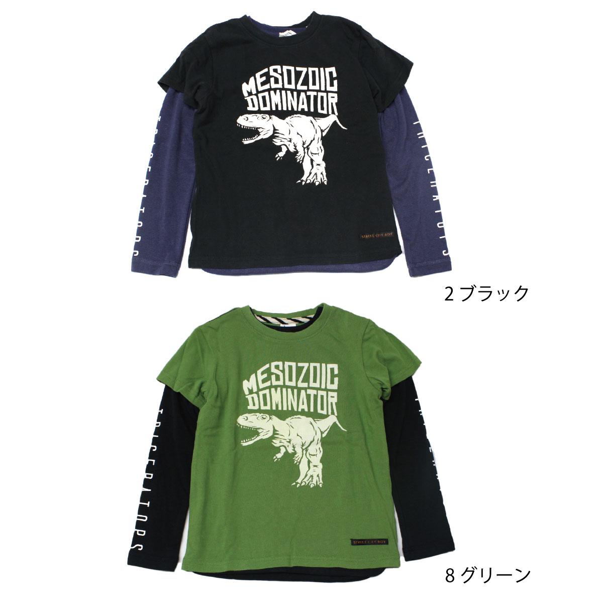 【セール】【50%off】【ネコポス対応】【SiShuNon/FARM】サバイバル!Tシャツセット ファーム キッズ 男の子 Tシャツ セット 恐竜