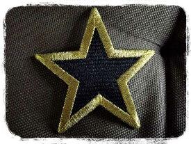 星ワッペン*お好きなお色お選び下さい【ネコポスOK】【刺繍】【star】【キラキラ】【ファンシー】
