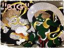 特大風神雷神ワッペンセット【ネコポス不可】【お買い得】【アイロン接着】【和柄】【トライバル】【刺青】【刺繍】