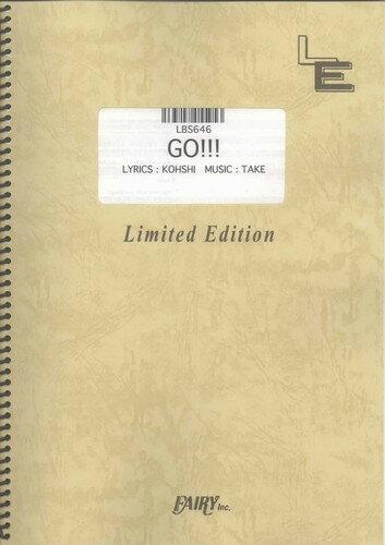 バンドスコアピース GO!!!/FLOW (LBS646)【オンデマンド楽譜】