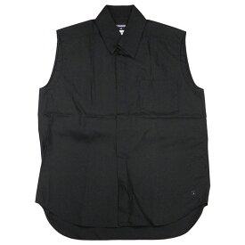 シャネル コットン ノースリーブシャツ サイズ41 ブラック【中古】【あす楽対応_東海】【コンビニ受取対応商品】