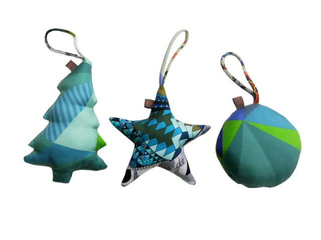 エルメス プティアッシュ バッグチャーム クリスマスオーナメント 3点セット 新品同様【中古】【あす楽対応_東海】【コンビニ受取対応商品】