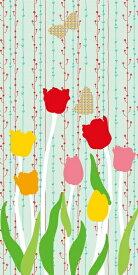 おしゃれ ふすま紙 おりひめ(チューリップ)デザイン襖紙(襖/ふすま/鳥の子/和紙/モダン/張替/通販)