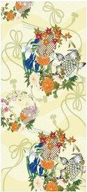 おしゃれ ふすま紙 おりひめ (鯉)デザイン襖紙(襖/ふすま/鳥の子/和紙/モダン/張替/通販)