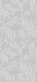 おしゃれ ふすま紙 おりひめ (藤と波)デザイン襖紙(襖/ふすま/鳥の子/和紙/モダン/シンプル/張替/通販)