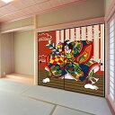 デザイン襖紙 「歌舞伎2」 2枚組  (襖/ふすま/ふすま紙/モダン/和紙/オシャレ/張替)