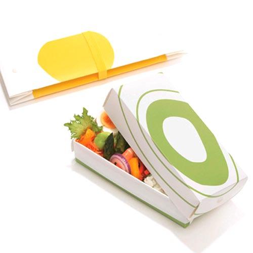HO.H. フラットランチボックス レギュラー(折りたたみ式お弁当箱)【楽ギフ_包装】