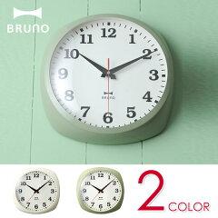 BRUNO(ブルーノ)メタルフレームクロック(時計壁掛け掛け時計シンプルアンティークレトロインテリア電波おしゃれ)【05P09Jan16】