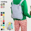 notabag(ノットアバッグ)BAG&BACKPACK(バッグ&バックパック)無地タイプ(無地 シンプル ミニマル リュック トー…