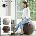 Vivora Sitting Ball LUNO LEATHERETTEビボラ シッティングボール レザーレット(65cm バランスボール クッション ヨ…