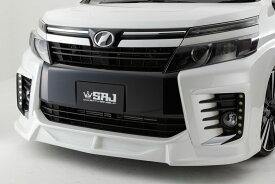 80 VOXY 80ヴォクシー ZSグレード用 ABS製エアロSEVEN フロントリップスポイラー 未塗装素地 前期専用