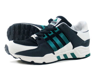adidas EQT RUNNING SUPPORT阿迪达斯EQT跑步支援CORE BLACK/SUB GREEN/WHITE VAPER