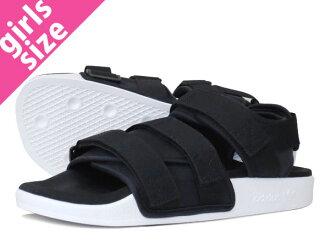 adidas ADILETTE SANDAL W BLACK/WHITE 【adidas Originals】