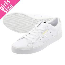【毎日がお得!値下げプライス】 adidas SLEEK W アディダス ハイパースリーク ウィメンズ RUNNING WHITE/RUNNING WHITE/CRYSTAL WHITE db3258