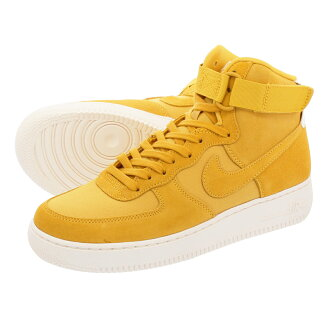 newest 250f2 48d06 LOWTEX PLUS  NIKE AIR FORCE 1 HIGH 07 SUEDE Nike air force 1 high 07 suede  YELLOW OCHRE SAIL aq8649-700   Rakuten Global Market