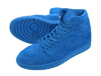 NIKE AIR JORDAN 1 RETRO HIGH Nike Air Jordan 1 nostalgic high TEAM ROYAL/TEAM ROYAL