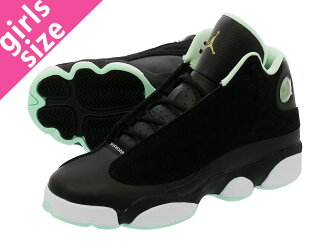 31253e143a0cb5 LOWTEX PLUS  NIKE AIR JORDAN 13 RETRO GG Nike Air Jordan 13 nostalgic GG  BLACK METALLIC GOLD MINT FOAM 439
