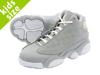 822a5515f66618 LOWTEX PLUS  NIKE AIR JORDAN 13 RETRO GP Nike Air Jordan 13 nostalgic GP  WOLF GREY DEADLY PINK WHITE WHITE