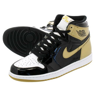 LOWTEX PLUS  NIKE AIR JORDAN 1 RETRO HIGH OG NRG Nike Air Jordan 1  nostalgic high OG NRG BLACK BLACK METALLIC GOLD  d3475d8f0