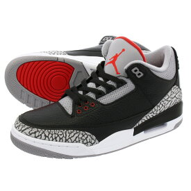 NIKE AIR JORDAN 3 RETRO OG 【BLACK CEMENT】 ナイキ エア ジョーダン 3 レトロ OG BLACK/FIRE RED/CEMENT GREY/WHITE 854262-001