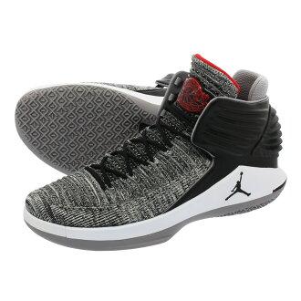 3c1863bd8e888b NIKE AIR JORDAN XXXII Nike Air Jordan 32 BLACK UNIVERSITY RED WHITE CEMENT  GREY