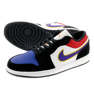 low priced 7ecc3 62151 NIKE AIR JORDAN1 LOW Nike Air Jordan 1 low BLACK/COURT PURPLE/WHITE  cj9216-051