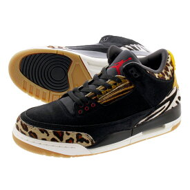 NIKE AIR JORDAN 3 RETRO ナイキ エア ジョーダン 3 レトロ 【ANIMAL INSTINCT】 BLACK/MUTI COLOR/DARK MOCHA ck4344-002
