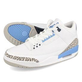 NIKE AIR JORDAN 3 RETRO 【UNC】 ナイキ エア ジョーダン 3 レトロ WHITE/VALOR BLUE/TECH GREY ct8532-104