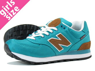 NEW BALANCE WL574BPD New Balance WL574BPD TEAL/BROWN
