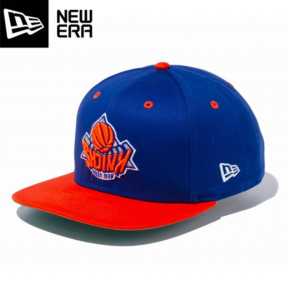 NEW ERA 9FIFTY ORIGINAL FIT UPSIDE DOWN NEW YORK KNICKS ニューエラ 9FIFTY アップサイド ダウン ニューヨーク ニックス LROY/ORG/OFC