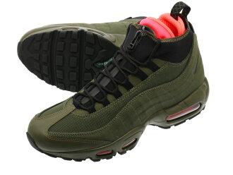 check out 9f7e3 5bf94 NIKE AIR MAX 95 SNEAKERBOOT Nike Air Max 95 sneaker boots DARK LODEN/CARGO  KHAKI/CRIMSON