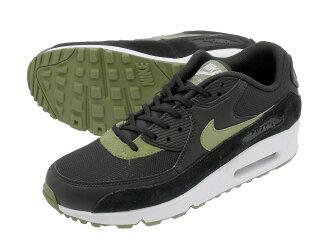 cd3c0ce9a0 LOWTEX PLUS: NIKE WMNS AIR MAX 90 Nike women Air Max 90 BLACK/PALM GREEN/WHITE/SILVER  325,213-038   Rakuten Global Market