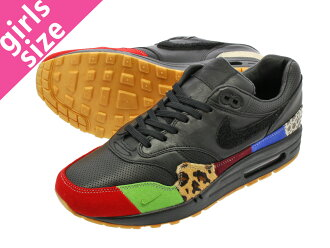 NIKE AIR MAX 1 MASTER Kie Ney AMAX 1 master BLACK/BLACK/UNIVERSITY RED/INTL BLUE