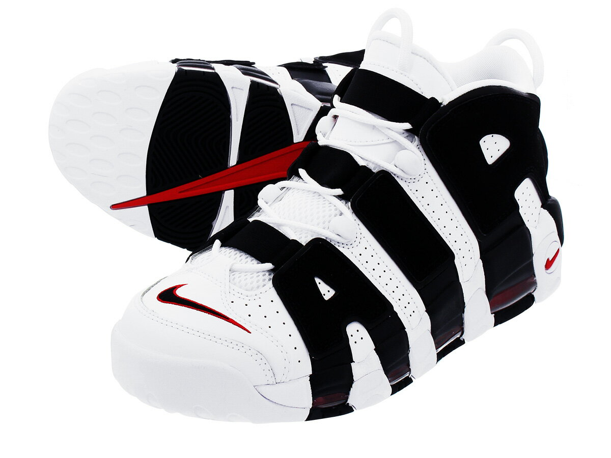 NIKE AIR MORE UPTEMPO ナイキ モア アップ テンポ WHITE/BLACK/VARSITY RED