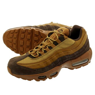 the latest 47a02 f8e96 NIKE AIR MAX 95 PREMIUM Kie Ney AMAX 95 premium BAROQUE BROWNGOLDEN  BEIGEALE BROWN