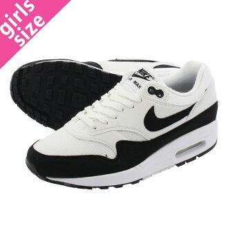 LOWTEX PLUS  NIKE WMNS AIR MAX 1 Nike women Air Max 1 WHITE BLACK ... 6383f0995