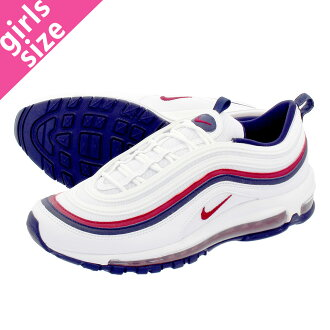 58c16b84ca LOWTEX PLUS: NIKE WMNS AIR MAX 97 Nike women Air Max 97 WHITE/RED CRUSH/BLACKENED  BLUE 921,733-102 | Rakuten Global Market