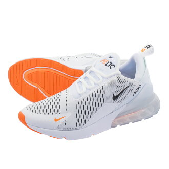 LOWTEX PLUS  NIKE AIR MAX 270 Kie Ney AMAX 270 WHITE BLACK TOTAL ORANGE  ah8050-106  658432b91