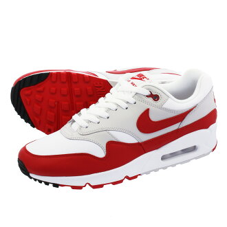 shopping genuine shoes skate shoes NIKE AIR MAX 90/1 Kie Ney AMAX 1 90/1 WHITE/UNIVERSITY RED/NEUTRAL  GREY/BLACK aj7695-100