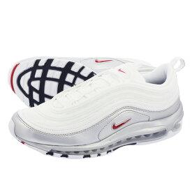 【お買い物マラソンSALE】 【ビッグ・スモールサイズ】 NIKE AIR MAX 97 QS ナイキ エア マックス 97 QS WHITE/VARSITY RED at5458-100