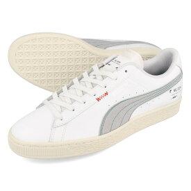 PUMA BASKET CLASSIC XXI RE.GEN プーマ バスケット クラシック 21 リ.ジェン WHITE/WHISPER WHITE 382313-01