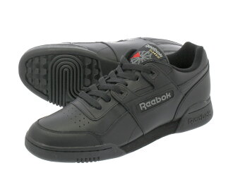 83904bfb7e8 LOWTEX PLUS  Reebok WORKOUT PLUS Reebok practice game plus BLACK CHARCOAL