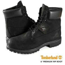 【毎日がお得!値下げプライス】TIMBERLAND 6inch PREMIUM WP BOOT ティンバーランド 6インチ プレミアム ウォータープルーフ ブーツ BLACK 10073