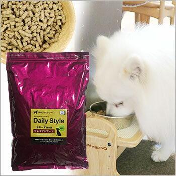 DailyStyle プレミアムドッグフード成犬用(1歳〜7歳未満)1kg入り(全犬種用)(デイリースタイル/ベニソン/国産/無添加/鹿肉ドッグフード/犬)