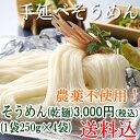 手延べそうめん(乾麺)1袋250g×4袋厳選された自然の素材のみ使用