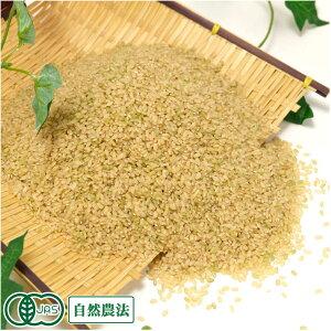 【令和元年度産】有機米 ミルキークイーン 玄米 5kg 有機JAS 自然農法 (宮城県 仙台たんの農園) 産地直送
